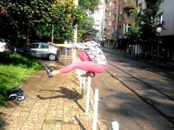 Ines Subashka-psitol squat