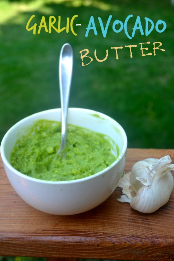 Image source: http://makethebestofeverything.com/2013/08/garlic-avocado-butter.html
