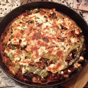 Най-вкусната неделна вечеря: Здравословна пица с блат от карфиол