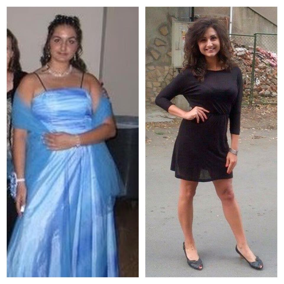 My sister's transformation