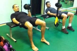 Тренировки в залата