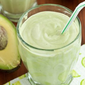 The Best Smoothie for Endurance Athletes: Avocado- Coconut Milk- Banana