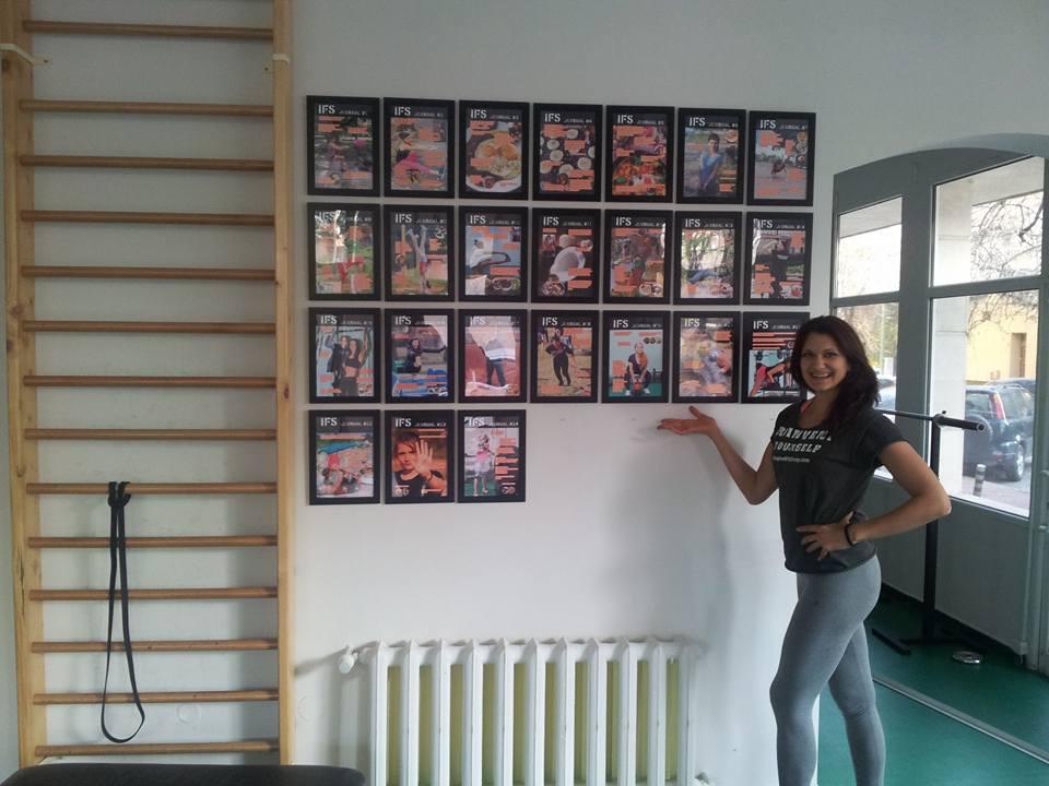 Стената на славата в IFS - всички журнали, които написах през последните 25 месеца :)