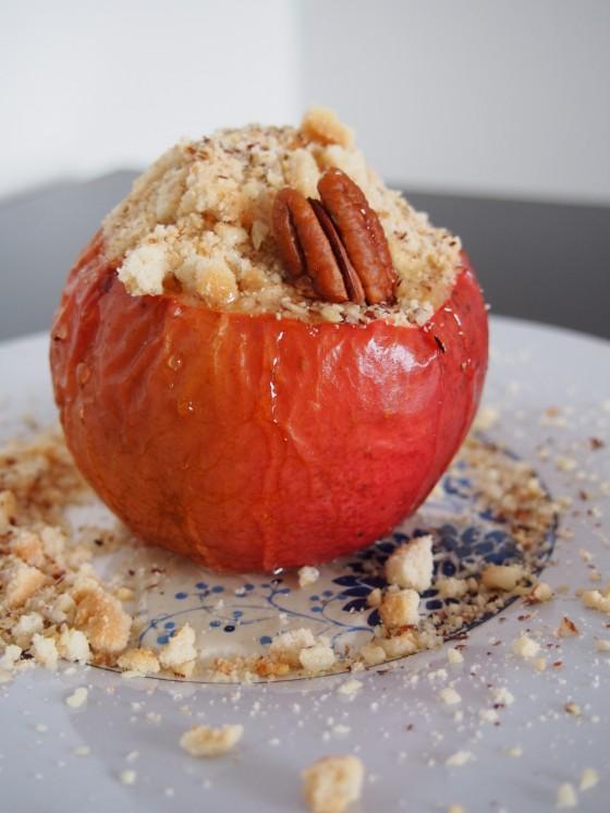 чийзкейк в ябълка