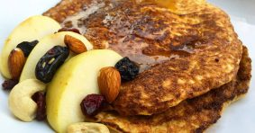 Yummy Fluffy Pancake – Apple Sweetness in Less Than 10 Minutes