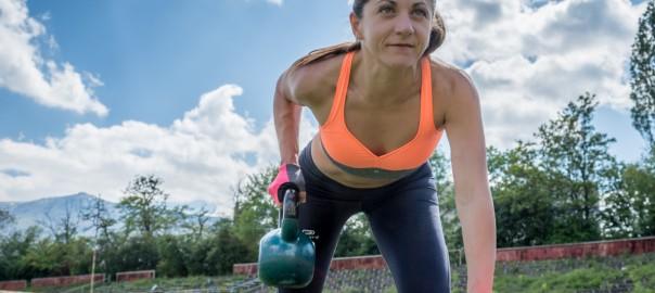 Прекрасната Ирена, която тренира в IFS от близо година :), снимка: Гергана Цончева