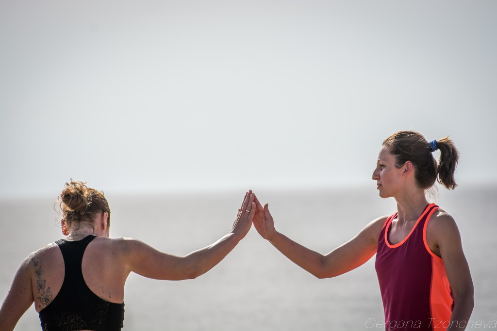 Марина и Маргарита, IFS Bootcamp, снимка: Гергана Цончева