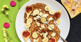 Sweet and Salty Pancake with Einkorn Flour