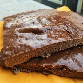 Healthy Brownie for Travelers