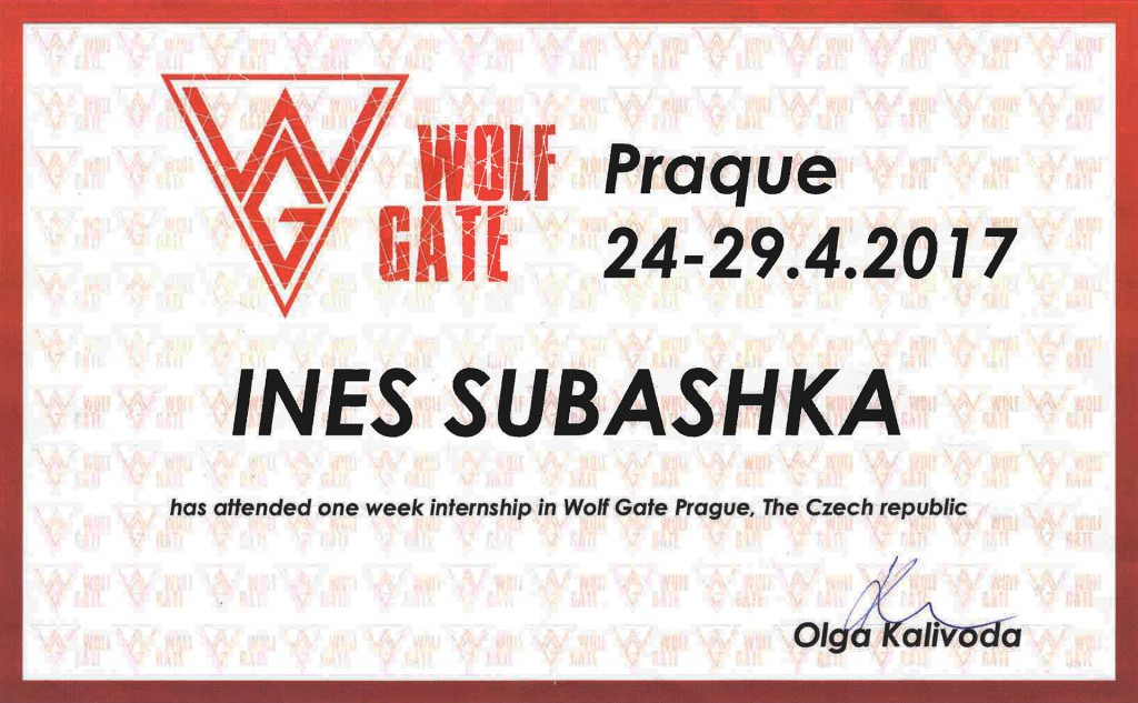 Ines Subashka Wolf Gate