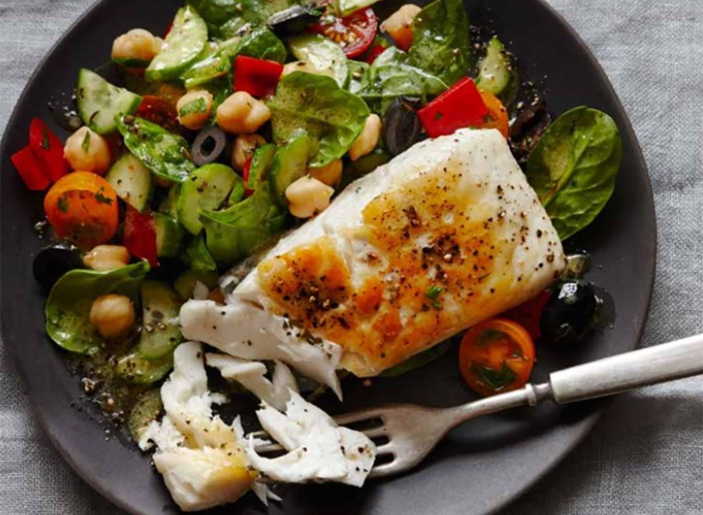 restaurant - white fish