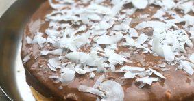 "Кокосова торта ""Джовайло"" с крем от банан и рожков"