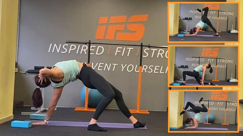 35 минутна мобилност за баланси на ръце и цяло тяло